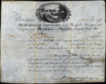 Springer Financial Documents Collection, Company of the Philadelphia and Lancaster Turnpike Stock Certificate