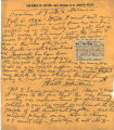 Walt Whitman Collection, Facsimile of Letter from Whitman to Dr. Johnston, Bolton.