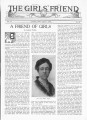 """A Friend of Girls"" Article by Delphia Phillips, August 5, 1923"