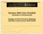 University of St. Francis  Summer 2006 Class Schedule