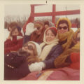 Students on Sleigh Ride - ca. 1970-1971