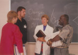 Nursing Students in Discussion - ca. 1990-1999
