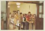 Students in Cafeteria Line - ca. 1968-1972