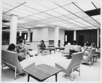 Students in Library Second Floor - ca. 1968-1969