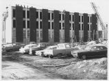 Marian Hall During Construction - January 1966