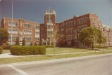 Tower Hall - Exterior Wide Shot - 1977