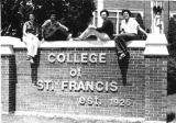 College of St. Francis sign
