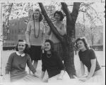 CSF Students on Campus - 1943