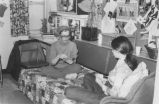 Playing Cards in Dorm Room - ca. 1976-1978