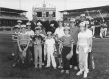 Olympic Night at Comiskey Park - Four White Sox Players - 1984