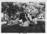 Class on the Quad - ca. 1970-1979
