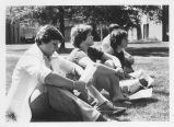 Class on the Quad - ca. 1976-1979