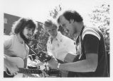 Students Play Guitar on the Quad - ca. 1970-1979