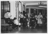 Sisters and Students Sing at Christmas Program - ca. 1980-1989