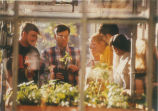 Class in Greenhouse - ca. 1990-1999
