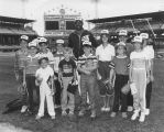 Olympic Night at Comiskey Park - Player w/ Children - 1984 2