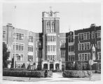 Tower Hall - Exterior in B&W - ca. 1950-1969