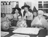 Halloween Party at Retirement Home - ca. 1980-1989