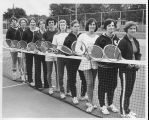 CSF Women's Tennis Team - ca. 1975-1989