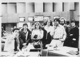 Tour of CBS 2 News - ca. 1976-1977