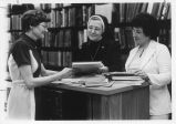 Staff in the Library - ca. 1970-1979