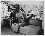 Students in Dorm Room - ca. 1960-1979