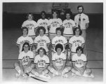 CSF Women's Basketball Team - 1978-1979