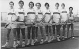 CSF Men's Tennis Team - ca. 1970-1989