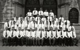 Summer 1951 Men's Glee Club & Faculty