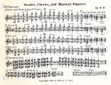 Scales, Chords,and Musical Figures (B-flat Clarinet)