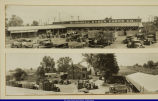 Bushnell Illinois Stock Yards Company, c. 1930s (Left side)