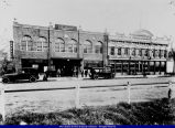Ball Brothers Southeast Corner of Gridley and Main Streets 1915