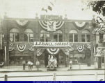 Ball, J.J. Garage, Bushnell, Illinois c. 1920