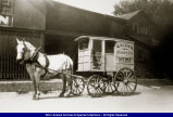 Horse Drawn Dairy Cart circa 1910s