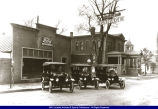 Macomb J. E. Carson and Sons Ford Garage 1918 or 1919