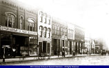 Macomb South Side Square circa 1906