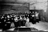 WISNS Music Class Taught By Winifred Swartz circa 1910s