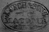 Joseph Pech & Sons Pottery Stamp