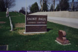 Saint Paul Catholic Cemetery Marker 1998