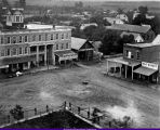 Macomb Southeast Side Square late 1800s early 1900s