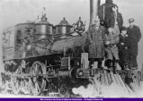Coal Burning Engine on the M. I. & L. Railroad