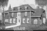 Joseph Bacon Home used as U.S.O. Club