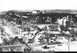 Aerial View of Macomb and WISNS early 1900s