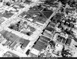 Aerial View of Macomb Courthouse and Square