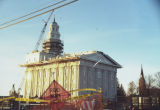 Construction of Morman Temple in Nauvoo 2001
