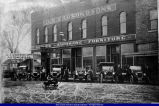 J.E. Carson Automobile Dealership Colchester c. 1912