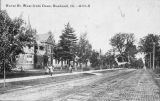 Hurst St. West from Dean, Bushnell early 1900s
