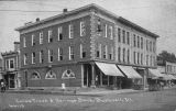 Cole Savings and Trust Bank, Bushnell circa 1917