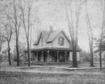 Charles Duntley Home in Bushnell, early 1900s