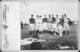Cabinet Card of Bushnell Sports Team